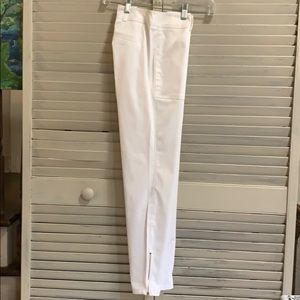 New York & Company Slim Ankle White Size 0